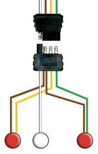 4-WAY WISHBONE STYLE WIRING HARNESSES