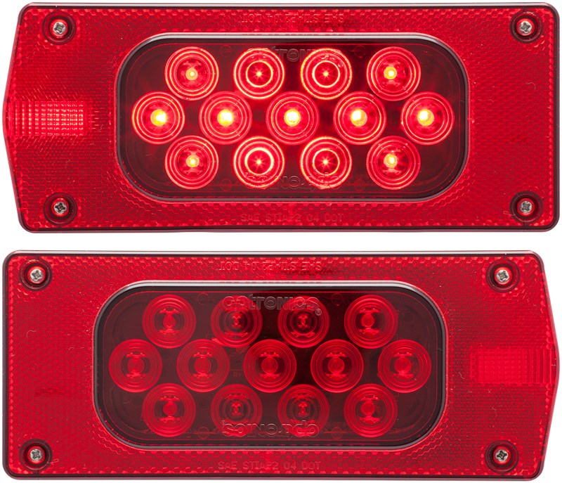Universal Car Auto 28 Red LED Third Tail Brake Stop Warning Light U3
