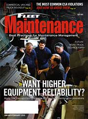 Equipment Reliability