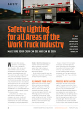 Safety Lighting for all Areas of the Work Truck Industry